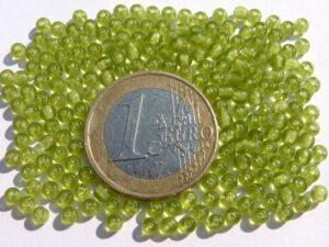 0100133 Licht olivine Groen rond 3 mm.-0