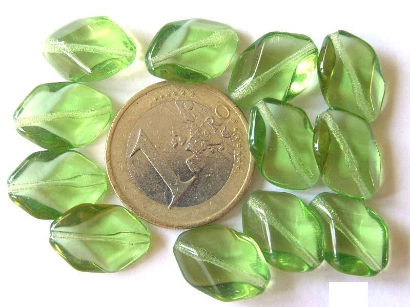 0100143 Groen gedraaide ovaal-0