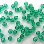 0100381 Emerald facet 3 mm.-0