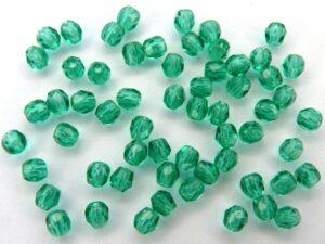 0100381 Emerald facet 3 mm.-0
