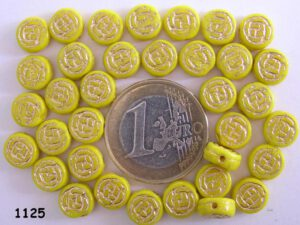 0130011 Dekkend geel met goudkleur-0