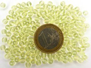 0130027 Citroen geel rond 4 mm. 150 stuks-0