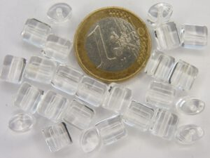 0150004 Kussenvormig Transparant. 25 stuks-0