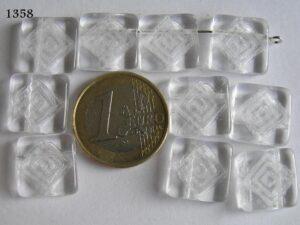 0150021 Plat vierkant met tekening crystal-0