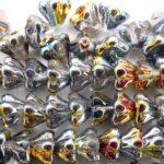 0150048 Crystal met Marea kelkvormig 8,5 x 6,5 mm. 25 stuks-0