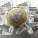 0150063 Spike Beads Crystal 7 x 17 mm. 12 stuks-0
