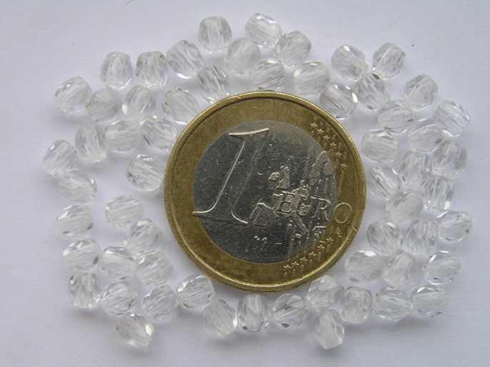 0150101 Crystal facet 4 mm. 60 stuks-0