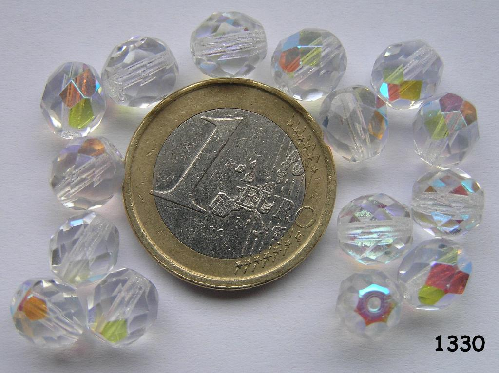 0150124 Crystal facet met AB 8 mm.-0