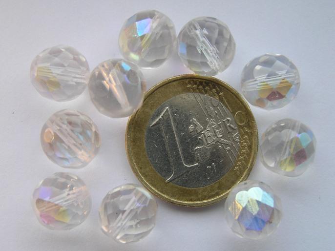 0150125 Crystal facet met AB 10 mm.-0