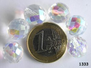 0150126 Crystal facet met AB 12 mm.-0