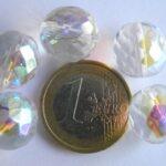 0150127 Crystal facet met AB 14 mm.-0