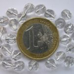 0150142 Crystal facet silver inside 6 mm.-0