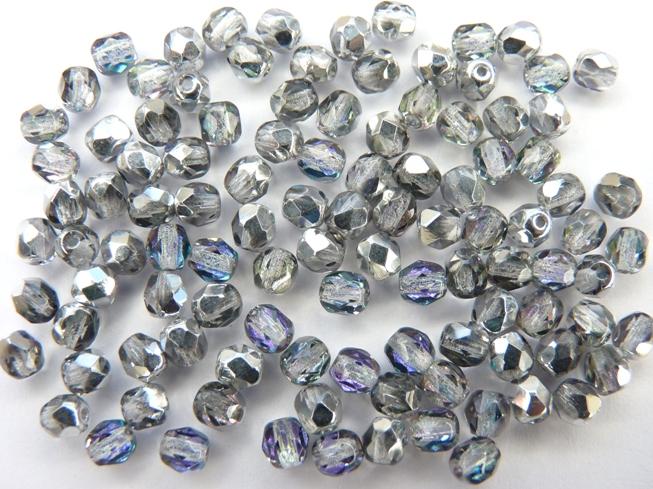 0150147 Crystal Vitrail Light facet, 4mm. 50 stuks-0
