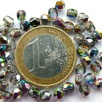 0150149 Crystal-Vitral facet 4 mm.-0