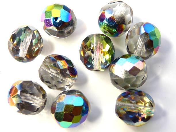 0150152 Crystal facet met Vitrail 10 mm.-0