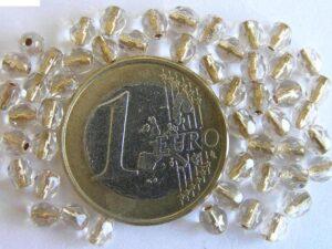 0150156 Crystal Gold inside 4 mm.-0