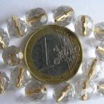 0150158 Crystal Gold Inside 8 mm.-0
