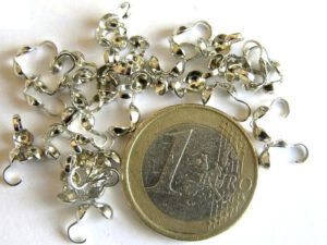 0160033 Kalotjes silverplated 25 Pc.-0