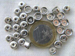 0160064 Nikkelkleurige eindkappen ( nikkelvrij)-0
