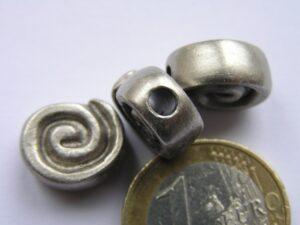 0200001 Oudzilverkleurig metalen tussenstuk/kraal-0