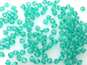 03-MC-60220 Bicones Blue Zircon 3 mm. 50 St-0