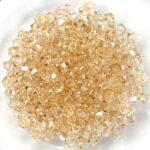 03-MC-00010-23501 Bicones Crystal Honey. 50 Pc-0