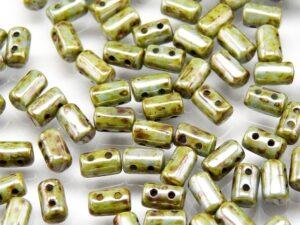 Rul-03000-65431 Opaque White Bleu Luster Rulla 10 gram-0