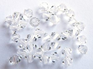 03-MC-00010 Bicone Crystal. 50 Pc.-0