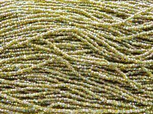 3x10-0-57129 Three cut Green Rainbow 10 gram.-0