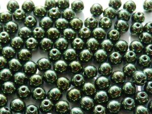 04-R-23980-14495 Jet Green Metallic Luster 120 Pc.-0