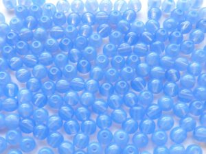 04-R-31000 Sky Blue Opal round 4 mm. 120 Pc.-0