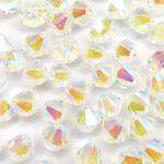 04-MC-00010-28701×2 Bicone, Crystal 2 x AB 4 mm. 50 Pc.-0