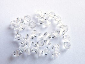 04-MC-00010 Bicone, Crystal 4 mm. 50 Pc.-0