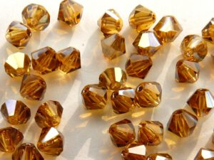 04-MC-10070-22501 Bicones Topaz Celsian 4 mm. 50 Pc.-0