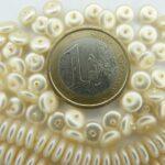 132-69007-70514 Satin Ivoor schijfje 6 x 2 mm.-0