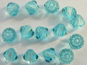 06-MC-60010 Bicones Aqua 6 mm. 24 Pc.-0