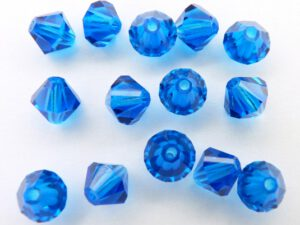 06-MC-60310 Bicones Capri Blue 24 Pc.-0