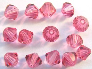 06-MC-70500 French Rose Bicone 6 mm. 24 Pc.-0