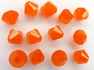 06-MC-81260 Bicones Orange Opal 24 Pc.-0