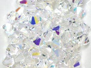 06-MC-00010-28701 Bicone Crystal AB 6 mm. 24 Pc.-0
