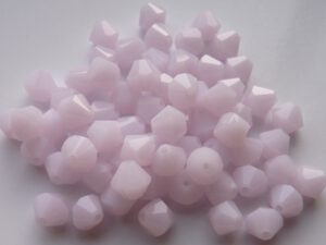 06-MC-72030 Bicones Pink Alabaster 24 Pc.-0