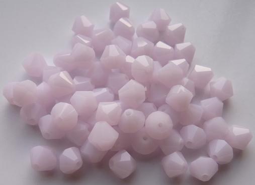 06-MC-72030 Bicones Pink Alabaster 24 Pc.-0