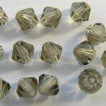 06-MC-40010 Bicones Black Diamond 6 mm. 24 Pc.-0