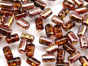 Rul-10230-27101 Smoke Topaz Capri Gold Rulla 10 gram.-0