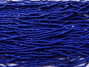 13/0-33070 Charlottes Opaque dark Royal Blue 10 gram.-0