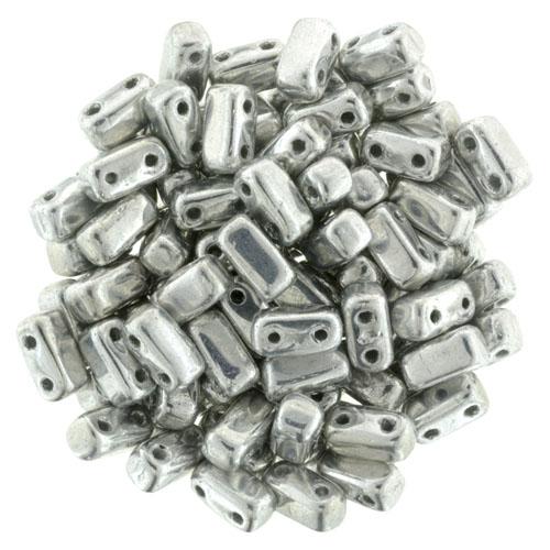 BRI-00030-27000 Silver Czech Mate Bricks 40 SPc.-0