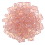 BRI-71010 Milky Pink CzechMate Brick beads 40  Pc.-0