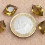 40020-Li Lipvormig Black Diamond  14 x 10 mm. 3 stuks-0