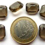 40020-Oc Ocagon Black Diamond  12 x 10 mm. 6 stuks-0