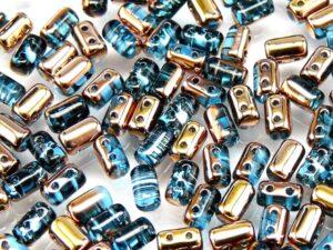 Rul-60020-27101 Aquamarine Capri Gold Rulla 10 gram-0